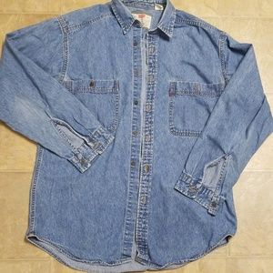 Vintage Levi's Button Up denim Shirt